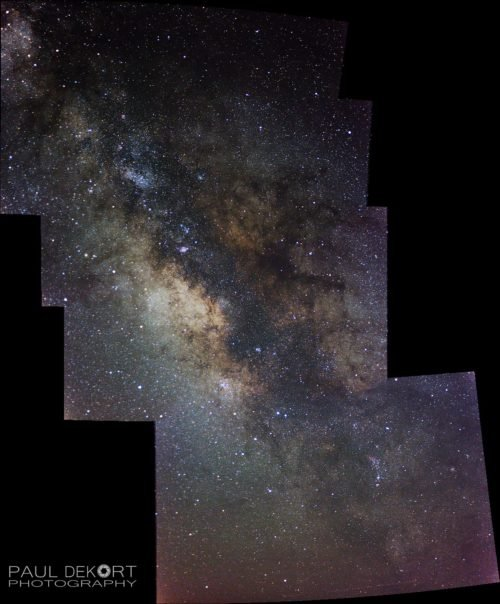 Milky Way Stitched