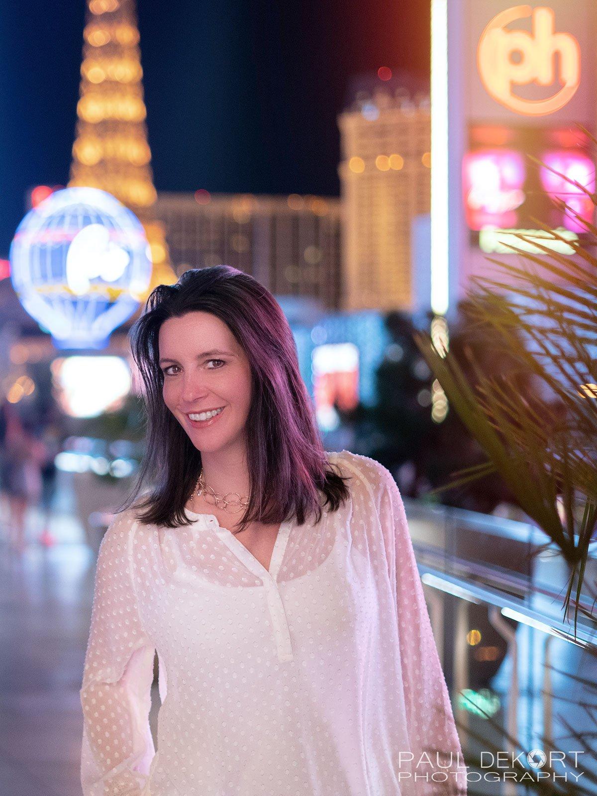 Photo of my Beautiful Wife in Vegas
