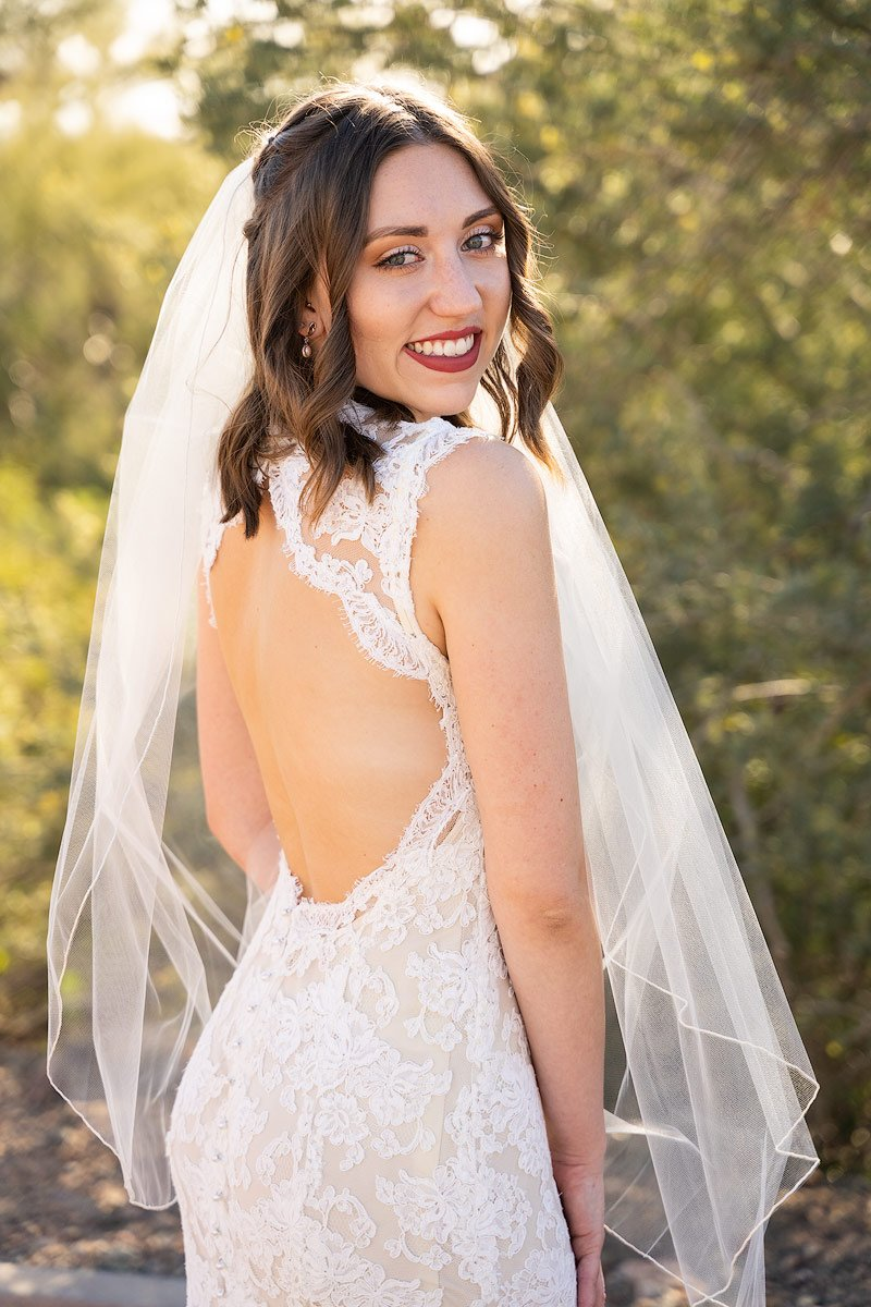 Photo of Beautiful Bride on her Wedding Day